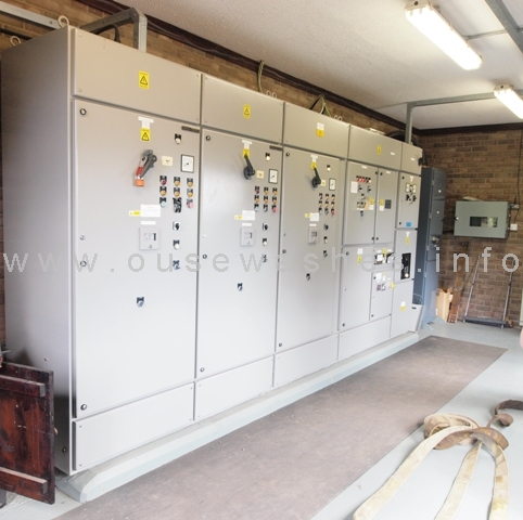 electric house control cabinets